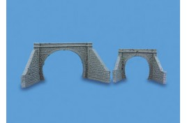 Tunnel Portal & Retaining Walls Double Track OO Scale