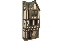 00/H0 Low Relief Timber Framed Shop