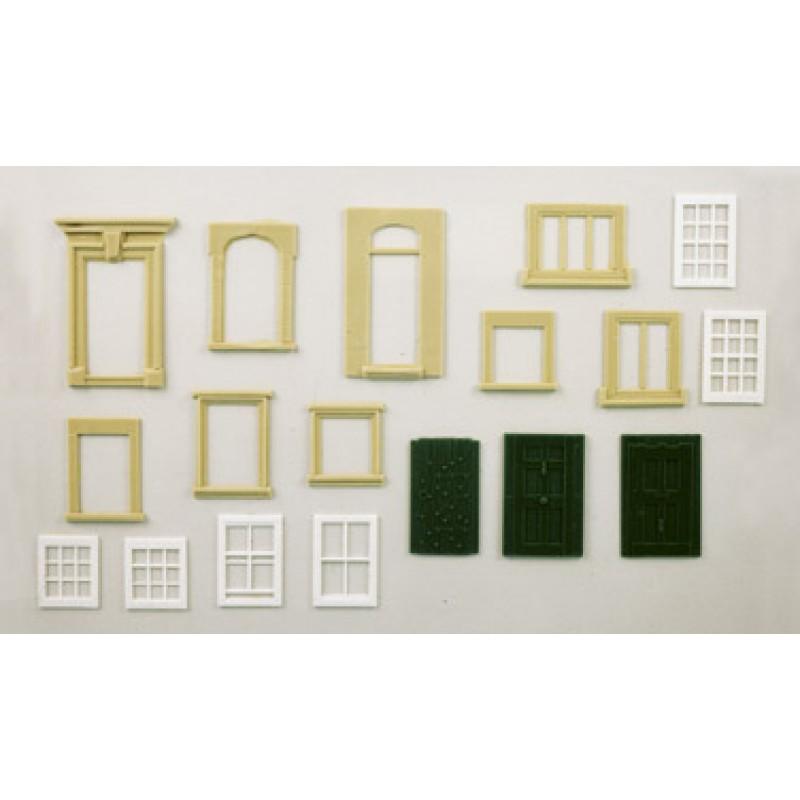 Doors Amp Windows Pack 1 Oo Scale