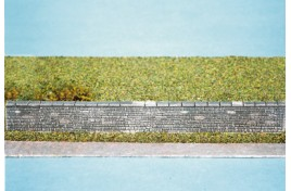 Dressed Stone Wall (plastic) OO Scale