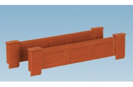 Parapet Bridge Walls Plastic Kit OO Scale