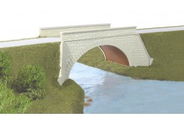 River / Canal Bridge Plastic Kit OO Scale