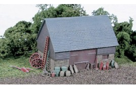 Barn - Stone & Timber Built Type Plastic Kit