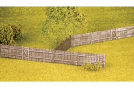 Feather Edge Board Fencing (plastic) OO Scale