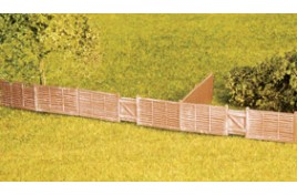 Larch Lap Fencing (plastic) OO Scale