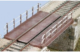 Decked Girder Bridge Plastic Kit OO Scale