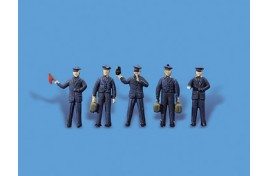 Station Staff x 5 OO/HO Scale