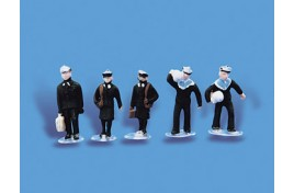 Navy Personnel x 5 OO Scale