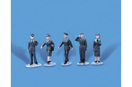 RAF Personnel x 5 OO Scale