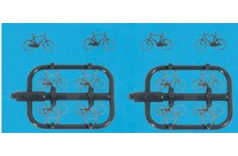 Bicycles Pack of 12 N Scale