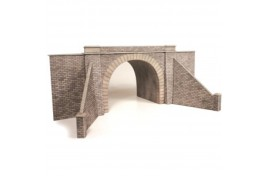 Double Track Tunnel Entrances (one pair) Card Kit OO Scale