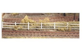 Flexible Lineside Fencing (white) N Scale