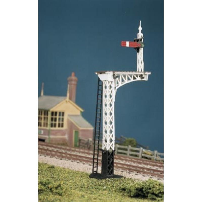 LNER or SR Advanced Construction Upper Quadrant Lattice Post Signal