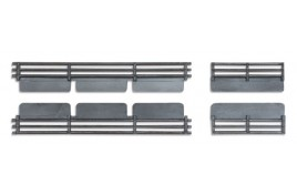 Coke Extension Boards for use with 7 Plank Coal Wagons (4 boards to fit 1 wagon)