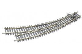 Curved Double Radius Setrack Insulfrog Right Hand Turnout
