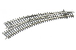 Curved Double Radius Setrack Insulfrog Left Hand Turnout