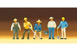 Track Workers x 5 OO/HO Scale