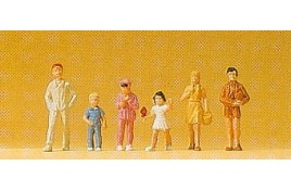 Children x 6 OO/HO Scale