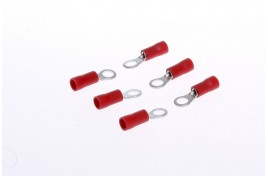 Ring Terminals Insulated Pack of 6