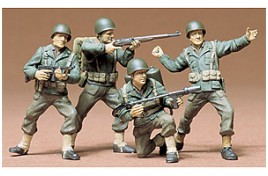 MILITARY MINIATURES U.S ARMY INFANTRY 1/35 SCALE