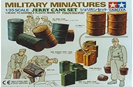 MILITARY MINIATURES JERRY CANS SET 1/35