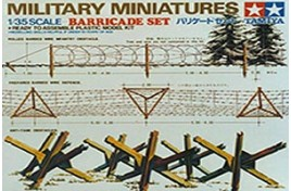 MILITARY MINIATURES BARRICADE SET 1/35 SCALE