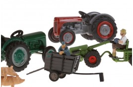 Tractors, Trailers And Caravans