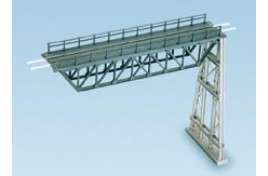 Steel Truss Span & Steel Trestle Plastic Kit N Scale