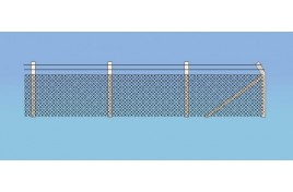 Security Fencing OO Scale