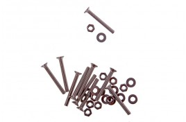M3 x 25mm Stainless Steel Countersunk Screws, Nuts & Washers x 10