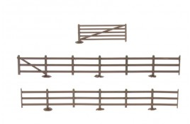 Fences & Gates Plastic Kit OO Scale