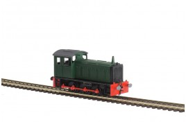 BR 0-6-0 Drewry Shunter Plastic Kit OO Scale
