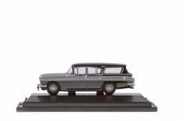 Vauxhall Cresta PA Friary Estate Silver Grey/ Black OO Scale