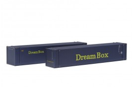OO Scale 2 x 45ft Containers Dream Box