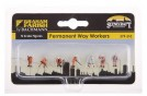 Permanent Way Workers x 6 & Equipment N Scale