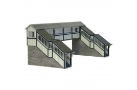 Footbridge Card Kit OO Scale