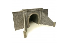 Single Track Tunnel Entrances (one pair) Card Kit OO Scale