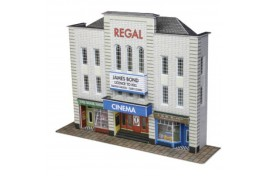 Low Relief Cinema Card Kit N Scale
