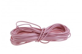 16/0.2mm Multi Core Wire 100m Drum Pink
