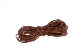 16/0.2mm Multi Core Wire 100m Drum Brown