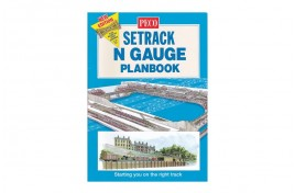 Peco Setrack N Gauge Trackplan Book (new edition)