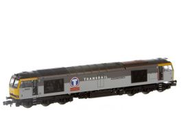 DCC Fitted Class 60 Diesel Co-Co Transrail 60061 'Alexander Graham Bell' (Buffers Exclusive)