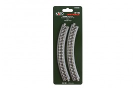 Ground Level Radius 249mm Curved Track 45 Degrees x 4