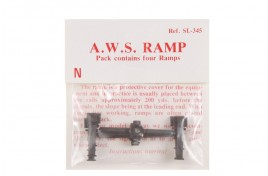 Dummy AWS Ramp Pack of 4 N Scale