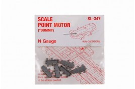Dummy Scale Point Motors Pack of 6 N Scale