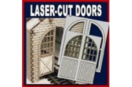Loco Depot Doors 50mm x 64mm (4 doors) OO/HO Scale
