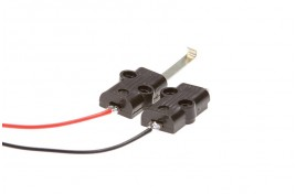 Power Connecting Clips with Soldered Wire Pack of 2
