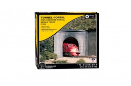 Single Track Tunnel Portal Concrete O Scale