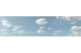 501B Summer Sky Backscene 10 feet x 15 inches OO Scale