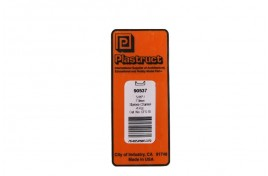 """90537 5/16""""/7.9mm x 24""""/600mm Styrene Channel Pack of 4"""
